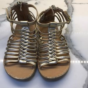 Other - Gold gladiators by dynasty shoes